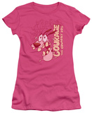 Juniors: Courage The Cowardly Dog - Running Scared Shirts