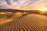 Rippled Sand Dunes at Sunrise Photographic Print by Laura Knauth