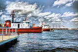 Fireboats at Fort Mchenry Photographic Print by L. Toshio Kishiyama