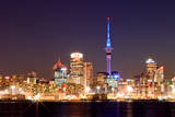 Auckland Skyline Photographic Print by Finn Gonschior