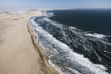 Aerial View of Desert Coastline Photographic Print by Cultura Travel/Led