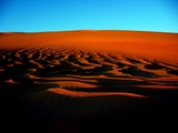Sunset on the Ubari Sand Sea Photographic Print by Joe & Clair Carnegie / Libyan Soup