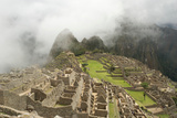 Early Morning Mist at Machu Picchu, Andes, Peru Photographic Print by Cultura Travel/Karen Fox