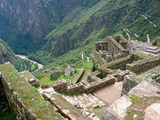 Machu Picchu Balconies Photographic Print by Eduardo Bassotto