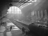 King's Cross Fire Photographic Print