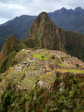 Machu Picchu Portrait Photographic Print by Rob Kroenert
