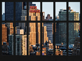 Window View - The New Yorker Hotel at Manhattan - New York City Photographic Print by Philippe Hugonnard
