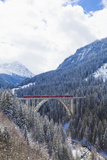 Langwies Viaduct, Grisons Photographic Print by Werner Dieterich