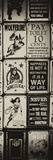 Antique Enamelled Signs - Wall Signs - Notting Hill - London - UK - England - Door Poster Photographic Print by Philippe Hugonnard
