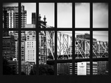 Window View - The Ed Koch Queensboro Bridge - Manhattan - New York City Photographic Print by Philippe Hugonnard