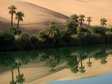 Umm-Al-Maa, Libyan Sahara. Photographic Print by Joe & Clair Carnegie / Libyan Soup