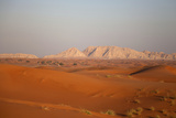 Sunset on Sand Dunes in Dubai, United Arab Emirates Photographic Print by  fototrav