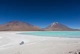 Laguna Verde in Bolivia Photographic Print by Benedikt Saxler