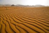 Jordan Wadi Rum Sand Dunes Pattern Photographic Print by Jason Jones Travel Photography
