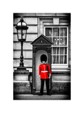 Buckingham Palace Guard - London - UK - England - United Kingdom - Europe Photographic Print by Philippe Hugonnard