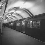 Tube Train Photographic Print by Monty Fresco