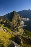 Sunrise at Citadel Temple of Machu Picchu in Peru Photographic Print by Matt Champlin