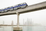 Palm Jumeirah Monorail Photographic Print by Jorg Greuel