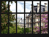 Window View - Parisian Architecture in the Spring - Paris - Ile de France - France - Europe Photographic Print by Philippe Hugonnard