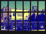Window View - Urban Scene in Chelsea - Downtown Manhattan - New York City Photographic Print by Philippe Hugonnard