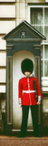 Buckingham Palace Guard - London - UK - England - United Kingdom - Europe - Door Poster Fotografisk trykk av Philippe Hugonnard