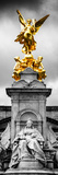 Victoria Memorial at Buckingham Palace - London - England - United Kingdom - Europe - Door Poster Photographic Print by Philippe Hugonnard