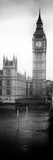 UK Buildings Landscape - Big Ben and Westminster Bridge - London - England - Door Poster Photographic Print by Philippe Hugonnard