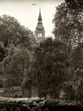 View of St James's Park Lake with Big Ben - London - UK - England - United Kingdom - Europe Photographic Print by Philippe Hugonnard
