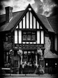 UK Cottage - The Blacksmiths Arms - St Albans - Hertfordshire - London - UK - England Photographic Print by Philippe Hugonnard