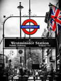 Westminster Station Underground - Subway Station - London - UK - England - United Kingdom - Europe Photographic Print by Philippe Hugonnard