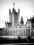 Royal Lamppost UK and the Palace of Westminster - London - UK - England - United Kingdom - Europe Photographic Print by Philippe Hugonnard
