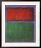 Earth and Green Posters by Mark Rothko