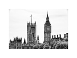 The Houses of Parliament and Big Ben - City of London - UK - England - United Kingdom - Europe Photographic Print by Philippe Hugonnard