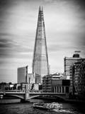 The Shard Building and The River Thames - London - UK - England - United Kingdom - Europe Photographic Print by Philippe Hugonnard