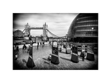 Moment of Life to City Hall with Tower Bridge - City of London - UK - England - United Kingdom Photographic Print by Philippe Hugonnard