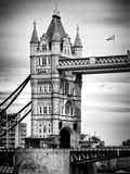 Tower Bridge with Red Bus in London - City of London - UK - England - United Kingdom - Europe Photographic Print by Philippe Hugonnard