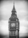 Big Ben Clock Tower - London - UK - England - United Kingdom - Europe Photographic Print by Philippe Hugonnard