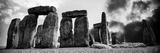 Stonehenge - Historic Wessex - Shrewton - Wiltshire - English Heritage - UK - England Fotografisk trykk av Philippe Hugonnard