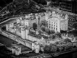 Majesty's Royal Palace and Fortress - London - UK - England - B&W Photography Photographic Print by Philippe Hugonnard