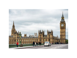 Palace of Westminster and Big Ben - Westminster Bridge - London - England - United Kingdom Photographic Print by Philippe Hugonnard