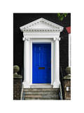 Victorian Blue Door - Architecure & Buildings - London - UK - England - United Kingdom - Europe Photographic Print by Philippe Hugonnard
