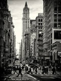 Urban Street Scene in Broadway - Canal Street - Manhattan - New York City Photographic Print by Philippe Hugonnard