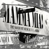 Love NY B&W Series - Mamma Mia The Musical - Winter Garden Theatre - Manhattan - New York - USA Photographic Print by Philippe Hugonnard