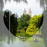 Love NY Series - Central Park Row Boat - Manhattan - New York - USA Photographic Print by Philippe Hugonnard