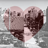 Love NY Series - Urban Scene in Chelsea - Manhattan - New York - USA - B&W Photography Photographic Print by Philippe Hugonnard