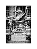 The Dragon Boundary Mark - City of London - UK - England - United Kingdom - Europe Photographic Print by Philippe Hugonnard