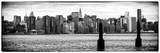 Instants of NY Series - Panoramic View Manhattan with the Empire State Building Photographic Print by Philippe Hugonnard