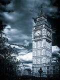 Big Ben - City of London - UK - England - United Kingdom - Europe - Color-Tone Photography Photographic Print by Philippe Hugonnard