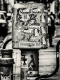 Urban Box NYC DEP - Street Art - Manhattan - New York City - United States - USA Photographic Print by Philippe Hugonnard