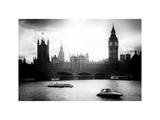 View of the Palace of Westminster and Big Ben - City of London - UK - England - United Kingdom Photographic Print by Philippe Hugonnard